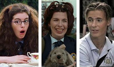 Julie Andrews, Mandy Moore, Anne Hathaway