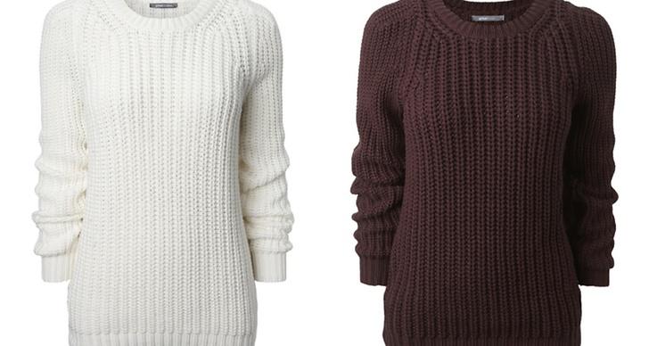 Enkel och snygg, stickad tröja från Gina Tricot 349kr