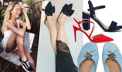skor, Kläder för henne