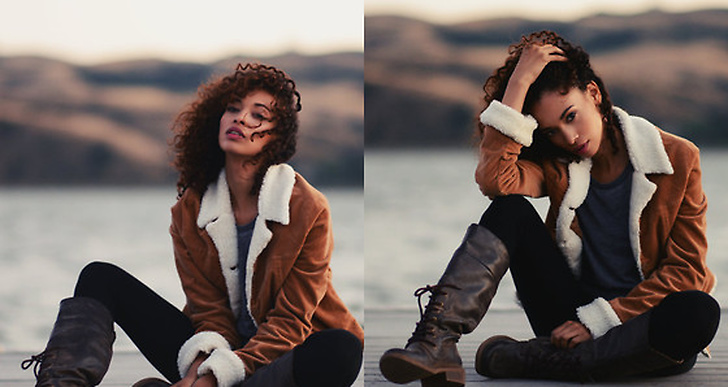 Shemmai i höstens jacka med teddy-krage! http://lookbook.nu/shemmaitorres
