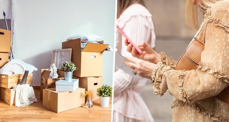 Packningsknep, flytta, byta bostad, lägenhet, packa