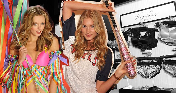 Frida Gustavsson och Elsa Hosk är två av Victoria's Secret-änglarna.