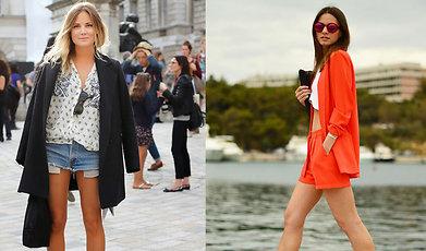 Sommar, Stil, Mode, Elin Kling, Stilikon, Shorts, Angelica Blick, inspiration, Trend