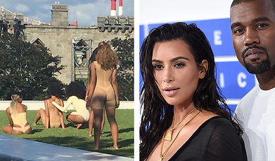 Hemskt, Kanye West, Modevisning
