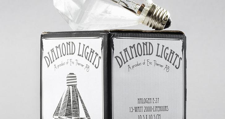Denna urläckra lampa är formgiven av Eric Therner och finns att köpa på Designtorget.