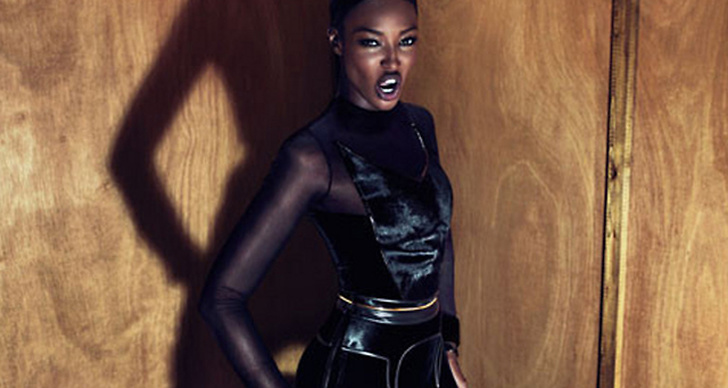 Naomi Campbell för Givenchy F/W 2011.