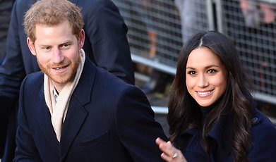 Meghan Markle, Prins Harry