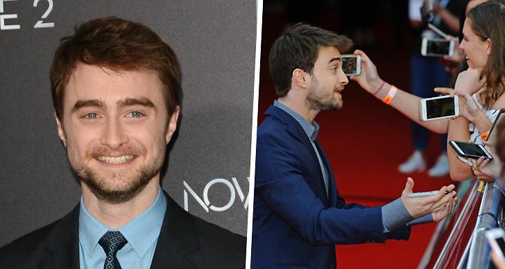 Daniel Radcliffe och flickvän Erin Darke.
