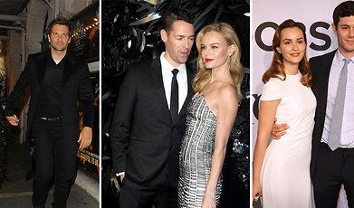 par, Hollywood, kärlek, Kändis