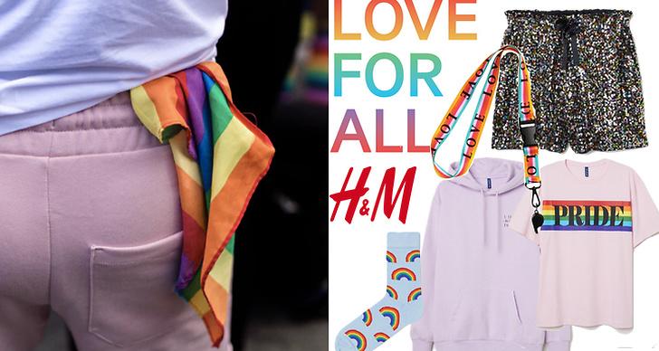 H&M:s pridekollektion