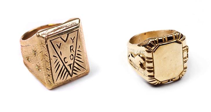 Ringarna kommer finns i både silver och mässing.