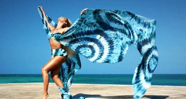 Reklamfilmen är inspelad i den vackra miljön på Bahamas.