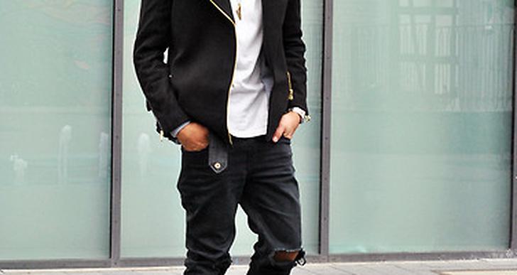 Kent Geffrey i slitna jeans och gamla Docs, snyggt matchat med den skräddade kavajen. http://lookbook.nu/kentjeffreyx