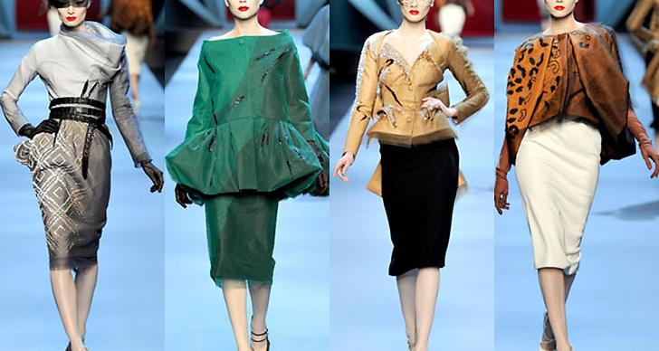 Spana in bildspelet och inspireras av Christian Diors haute couture-kollektion.