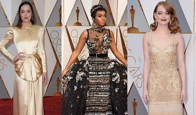 Oscarsgalan, Röda mattan, Outfit