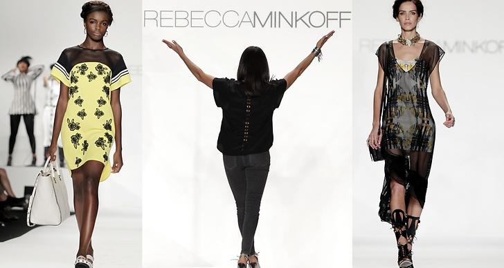Rebecca Minkoffs visning i New York inför våren 2014