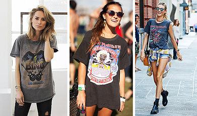 festival, Rock, Mode, T-shirt