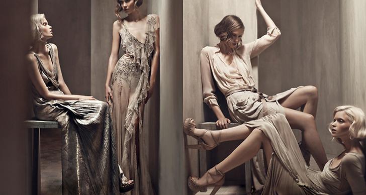 Donna Karan S/S 2011. Foto: Patrick Demarchelier. Modeller: Abbey Lee Kershaw & Karlie Kloss.