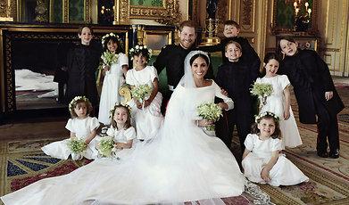 Meghan Markle, Bröllop, Prins Harry