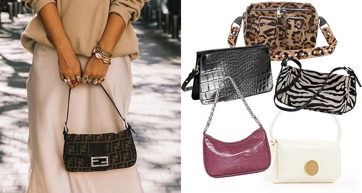 Snygga baguetteväskor att shoppa i butik och online just nu. Här är våra favoriter.