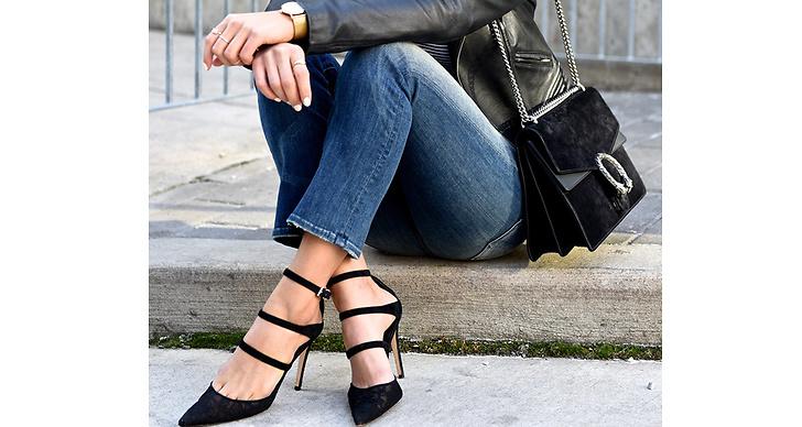 Fynda finskor. Svårt att hitta nya skor? Second hand hittar du allt ifrån spetsiga klackar till platta sneakers.Och dessutom slipper du skoskav eftersom någon annan gått in dem.