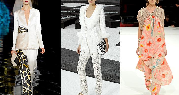 Arizona i kreationer av Louis Vuitton,Chanel och Kenzo.