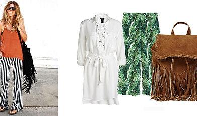 Shopping, Mode, kulotter, inspiration, Sommar