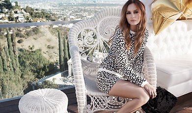 Colloboration, Nelly.com, Clothes, Fashion, Leighton Meester