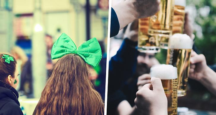 St Patrick's day, platser att fira på i Stockholm