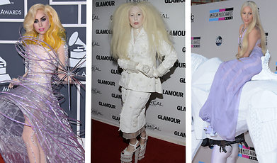 Outfit, Röda mattan, Lady Gaga