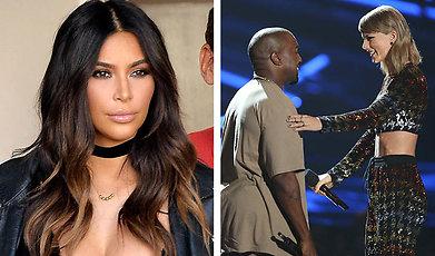 Taylor Swift, Kanye West, Kim Kardashian