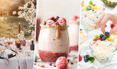 Fest, dessert, Midsommar, Efterrätt