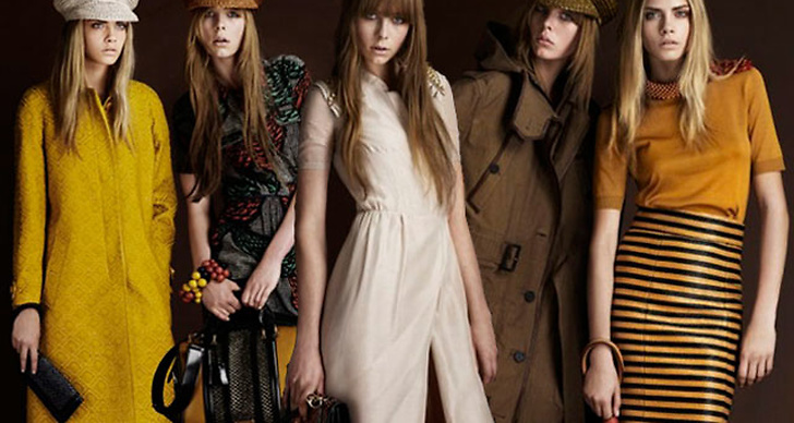 Burberry Resort 2012 Collection.