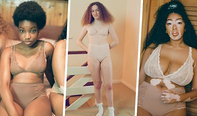 Kroppsideal, Underkläder