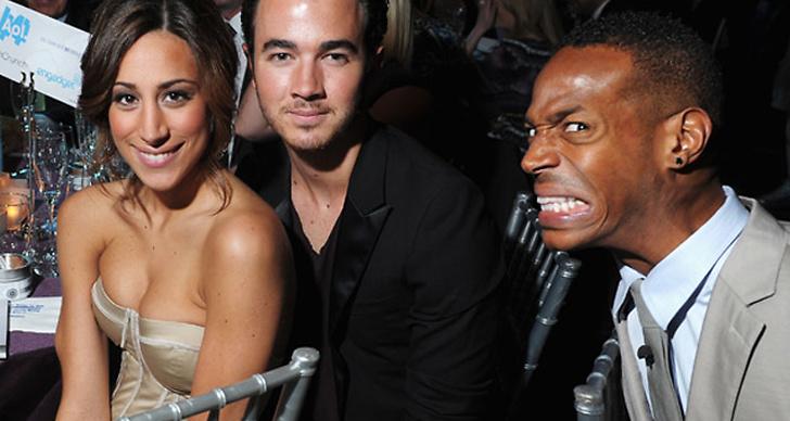 Danielle Jonas, Kevin Jonas och Marlon Wayans.